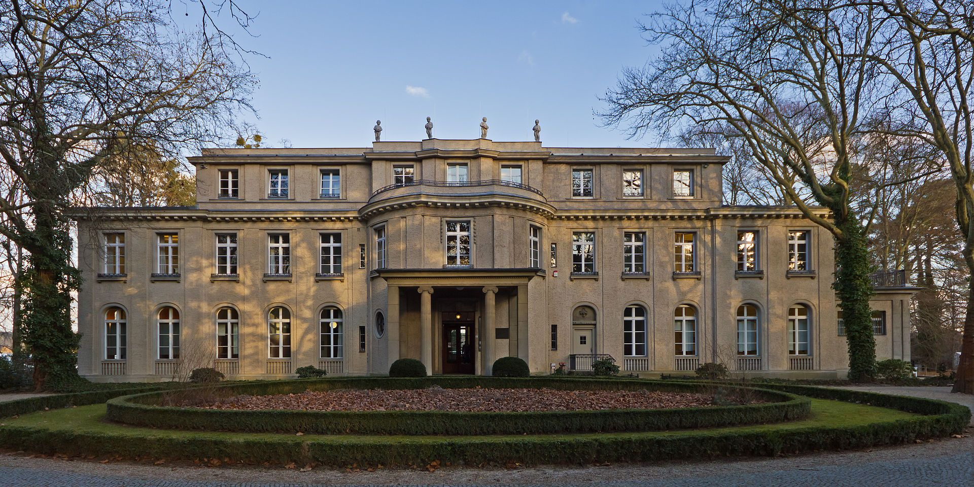 The villa at 56–58 Am Großen Wannsee, where the Wannsee Conference was held is now a memorial and museum
