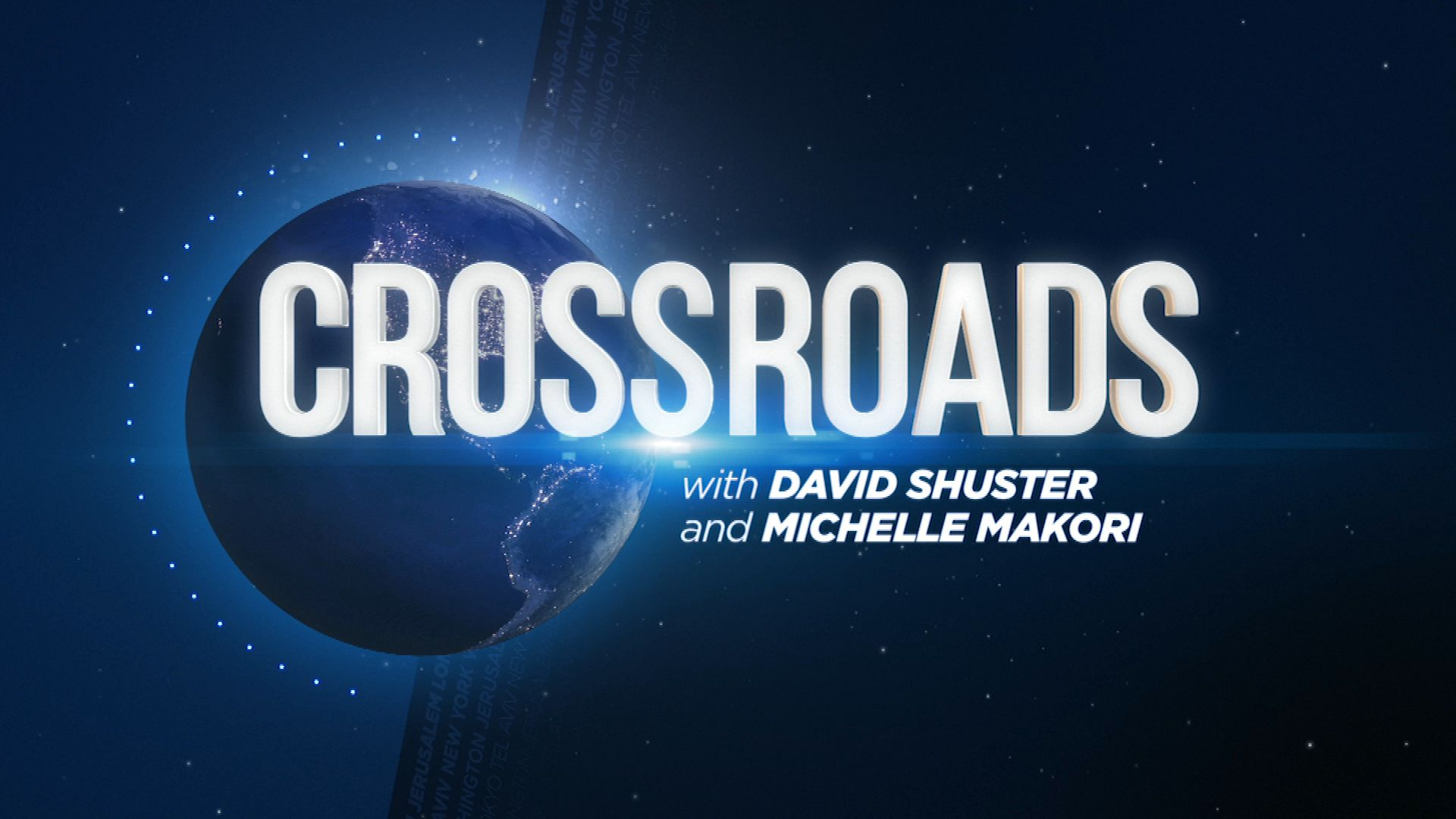 CROSSROADS | With Michelle Makori and David Shuster