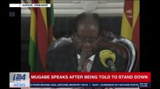Zimbabwe: le président Mugabe finit son intervention sans annoncer sa démission