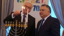 German president slams anti-Israel demonstrations at candle-lighting ceremony