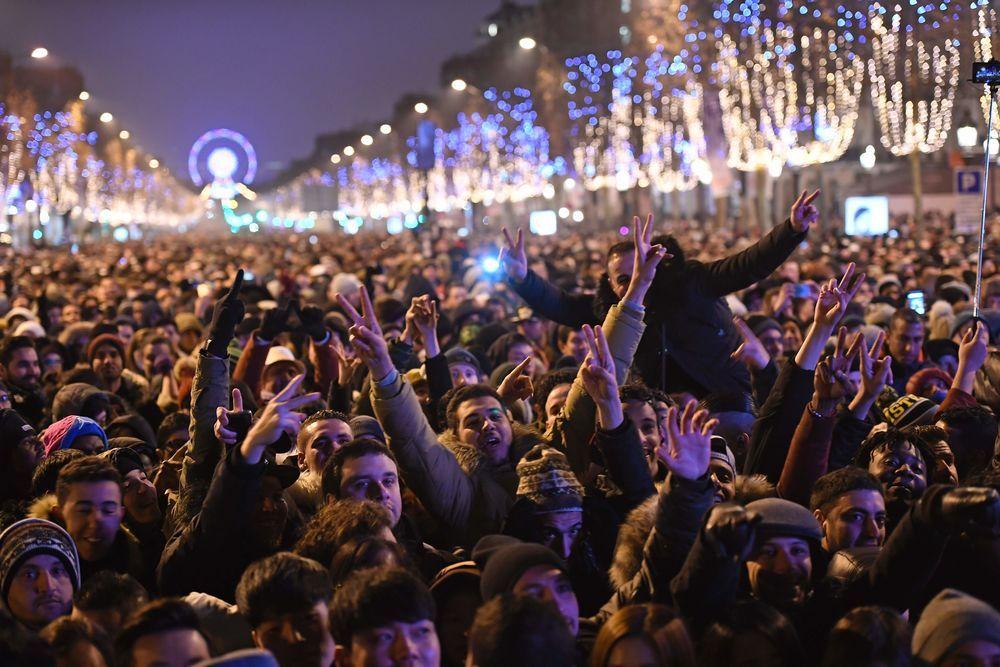 Champs Elysées - France - Nouvel an 2017