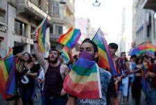 Turkey slaps ban on LGBT events in capital to keep 'public order'