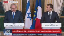 """Jérusalem: Emmanuel Macron juge l'annonce de Trump """"dangereuse pour la paix"""""""