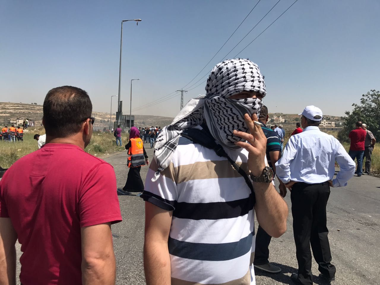 Palestinians injured during rallies for prisoners