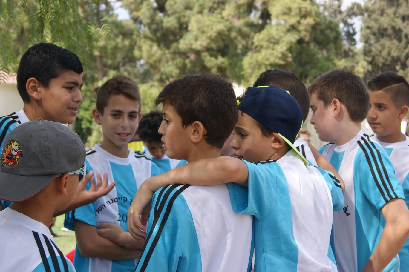Soccer for Peace summer camp 2016