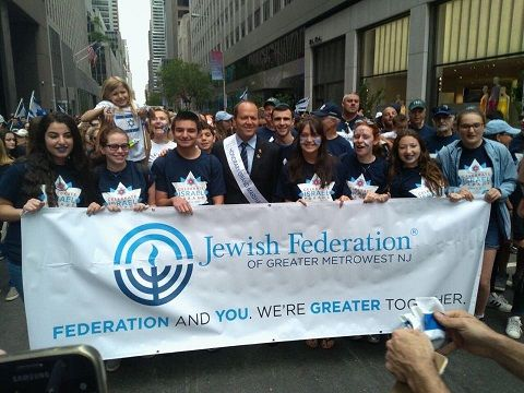 Fifth Avenue in Blue and White as Thousands Attend Celebrate Israel Parade