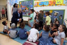 During visit to south, Netanyahu says 'exchange of blows' with Hamas not over