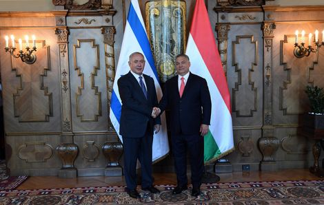 Hungary's Orban arrives in Israel for first-ever visit
