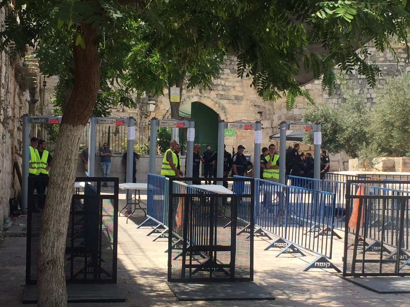 77% of Israelis see removal of Temple Mount metal detectors as capitulation