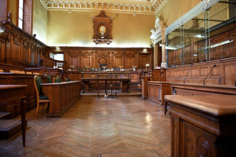 La cour d'assises de Paris avant l'ouverture du procès d'Abdelkader Merah le 2 octobre 2017 Eric FEFERBERG  AFP