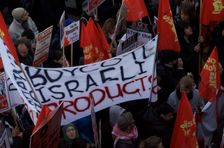 BDS supporters, London 2009
