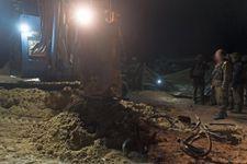 Un tunnel offensif du Hamas reliant la bande de Gaza à Israël détruit par Tsahal