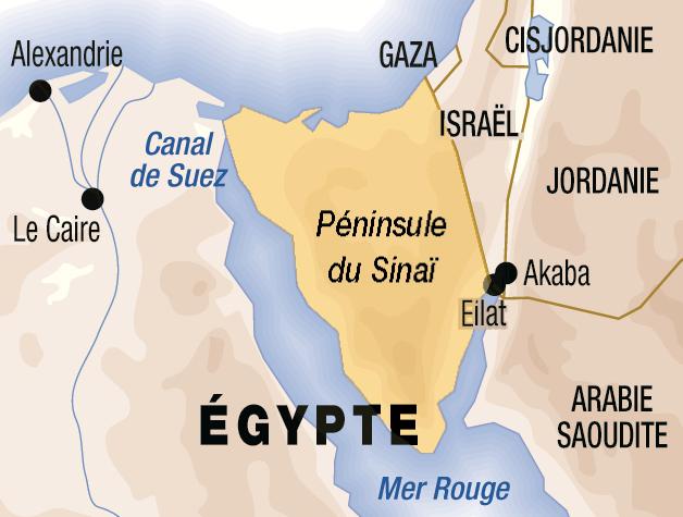 Des avocats égyptiens s'opposent à un Etat palestinien dans le Sinaï