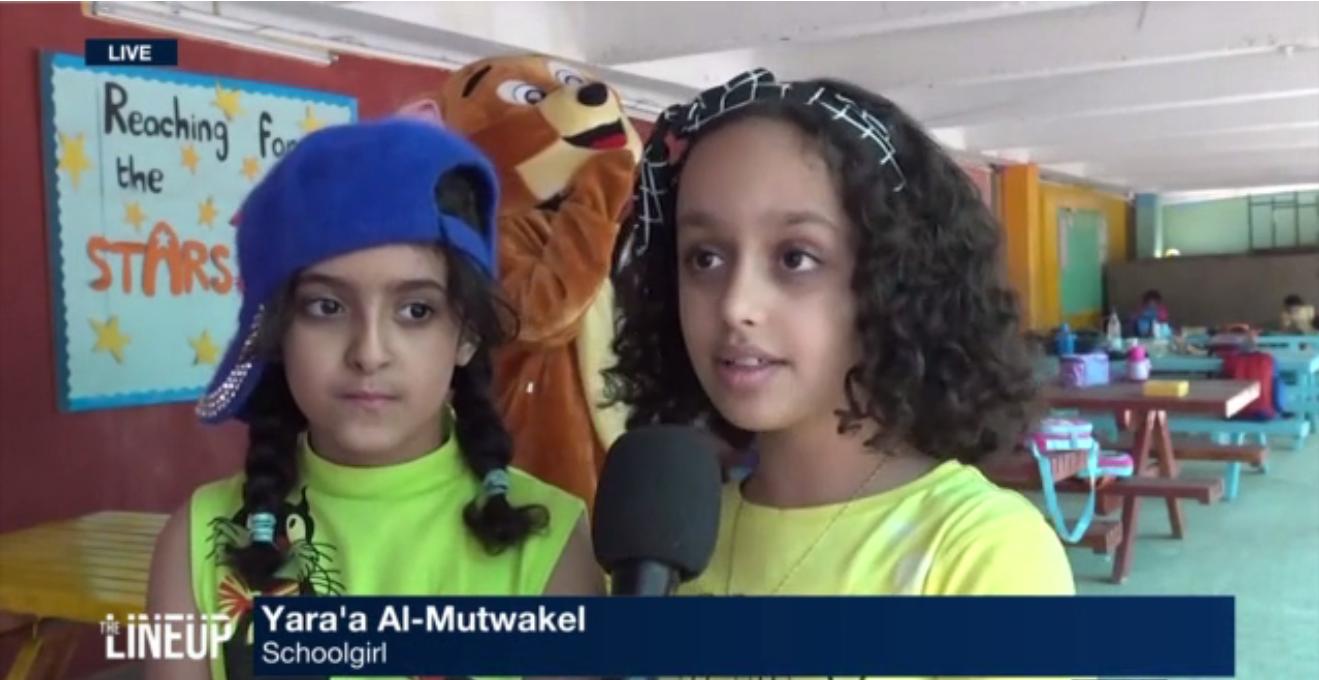 10-year-old Yara Al-Mutwakel talks about living in the heart of the war in Yemen