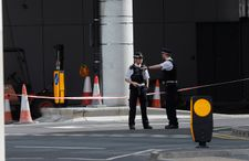 Central London roads closed in false alarm after reports of 'suspicious vehicle'