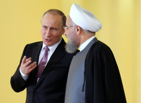 Image result for putin rouhani'
