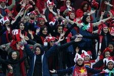 FIFA chief hails 'breakthrough' after Iranian women attend Tehran soccer final