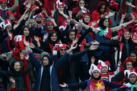 FIFA chief hails 'breakthrough' after Iranian women attend Tehran soccer final