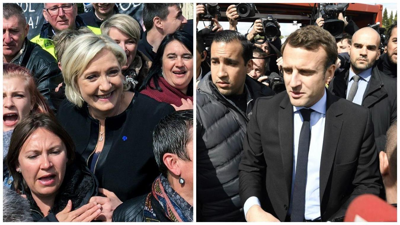 Duel surprise entre Macron et Le Pen à Whirlpool