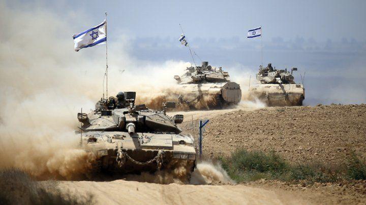 Tsahal a riposté à au moins quinze tirs de mortier palestiniens