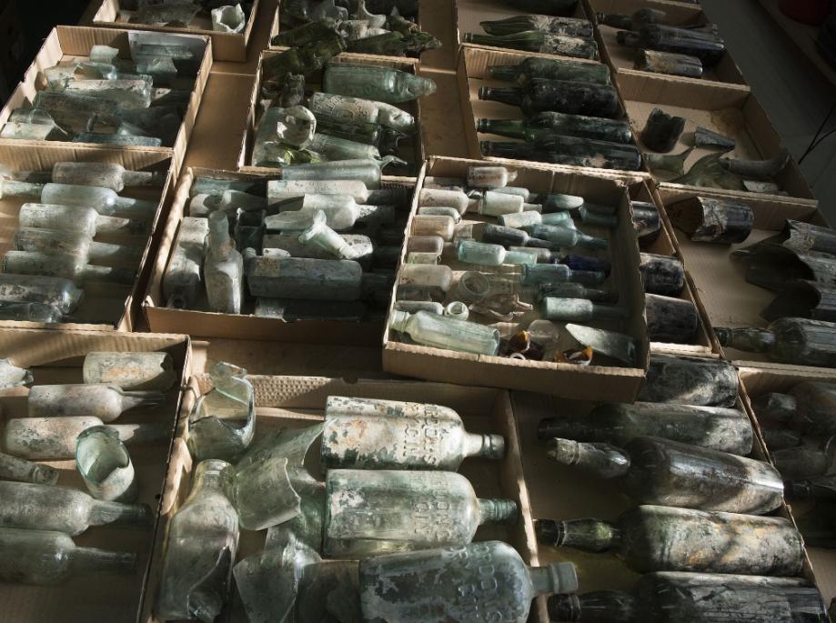 Israël: découverte de bouteilles d'alcool centenaires