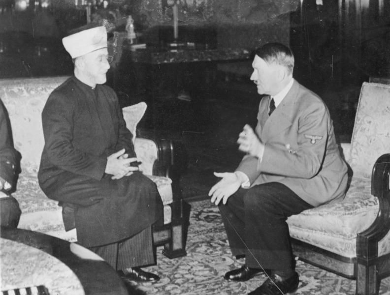 Himmler hailed 'joint struggle' against Jews in newly revealed telegram to mufti