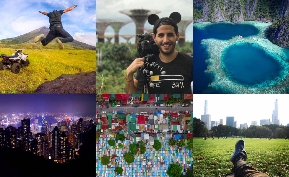Around the world in 310 videos