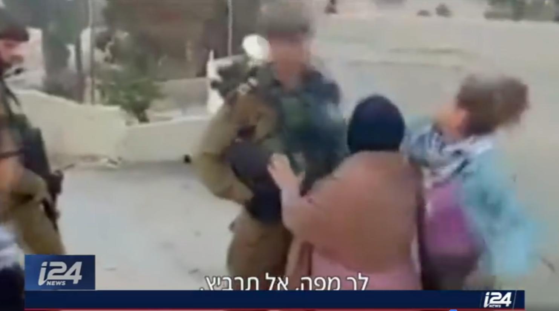 La seconde activiste palestinienne ayant agressé des soldats israéliens arrêtée — Cisjordanie