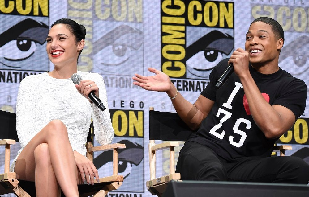 Gal Gadot appears at Comic-Con, as 'Wonder Woman 2' is announced