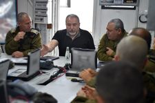 Liberman says goal is removal of Hamas from Gaza