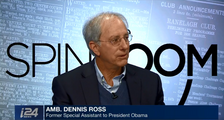 Longtime American diplomat and author Ambassador Dennis Ross appears on i24NEWS