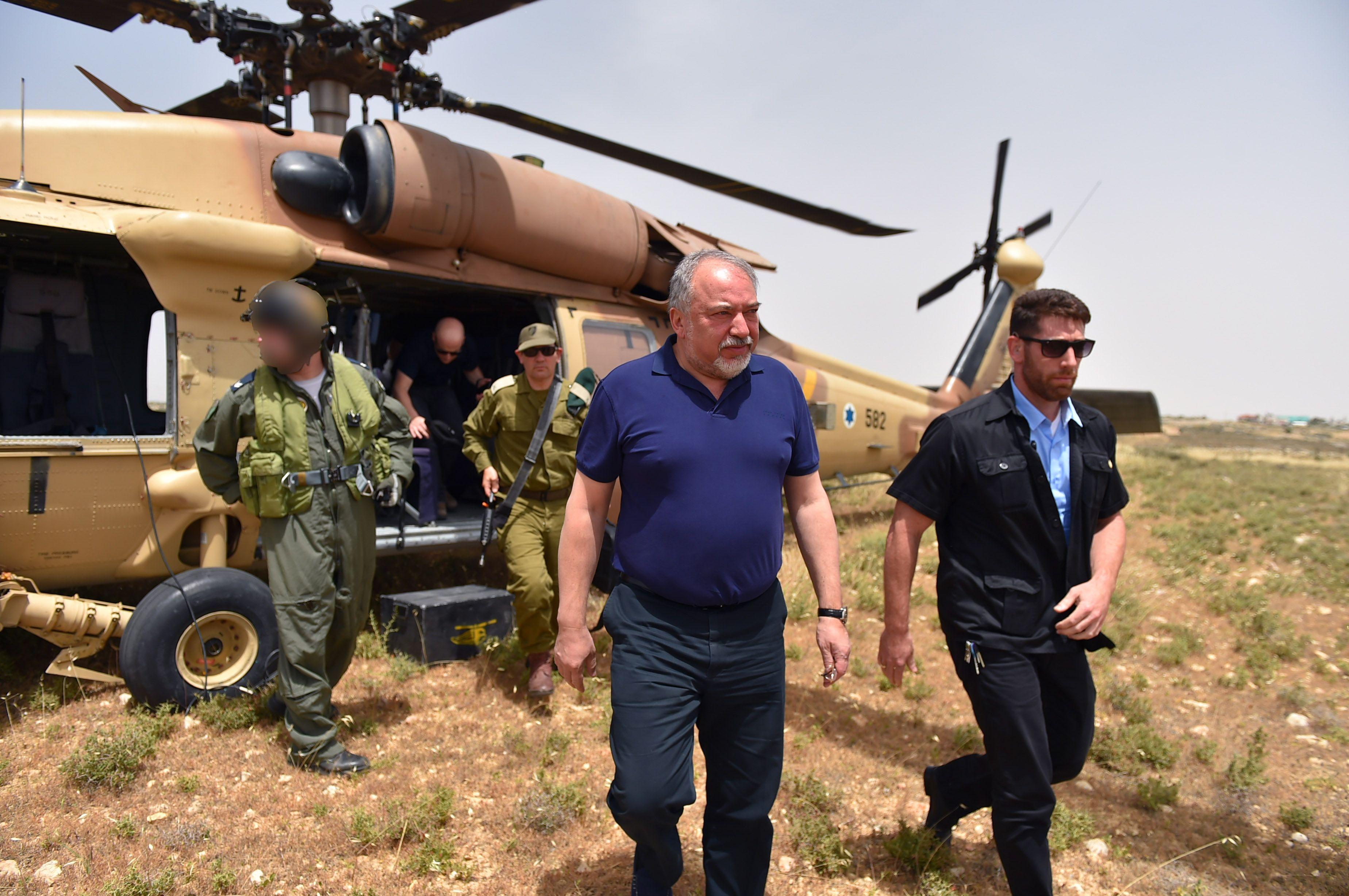 Israel hotar gaza med blockad