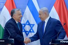 """""""Tolérance zéro"""" contre l'antisémitisme, promet Orban en visite en Israël"""