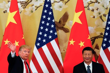 China says US 'firing at itself' with tariffs as trade war set to erupt