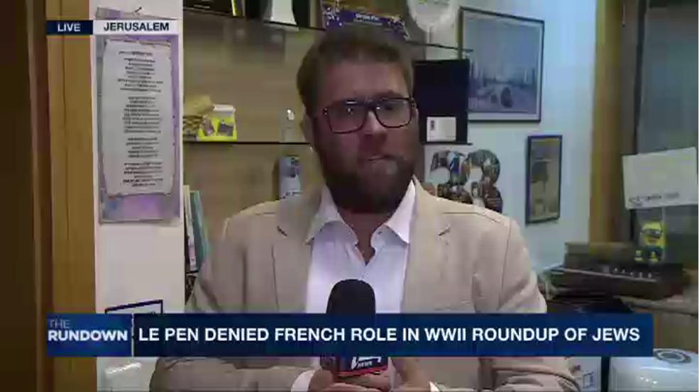 """""""Des députés à la Knesset soutiennent Le Pen mais ont peur de le dire"""" (Hazan)"""