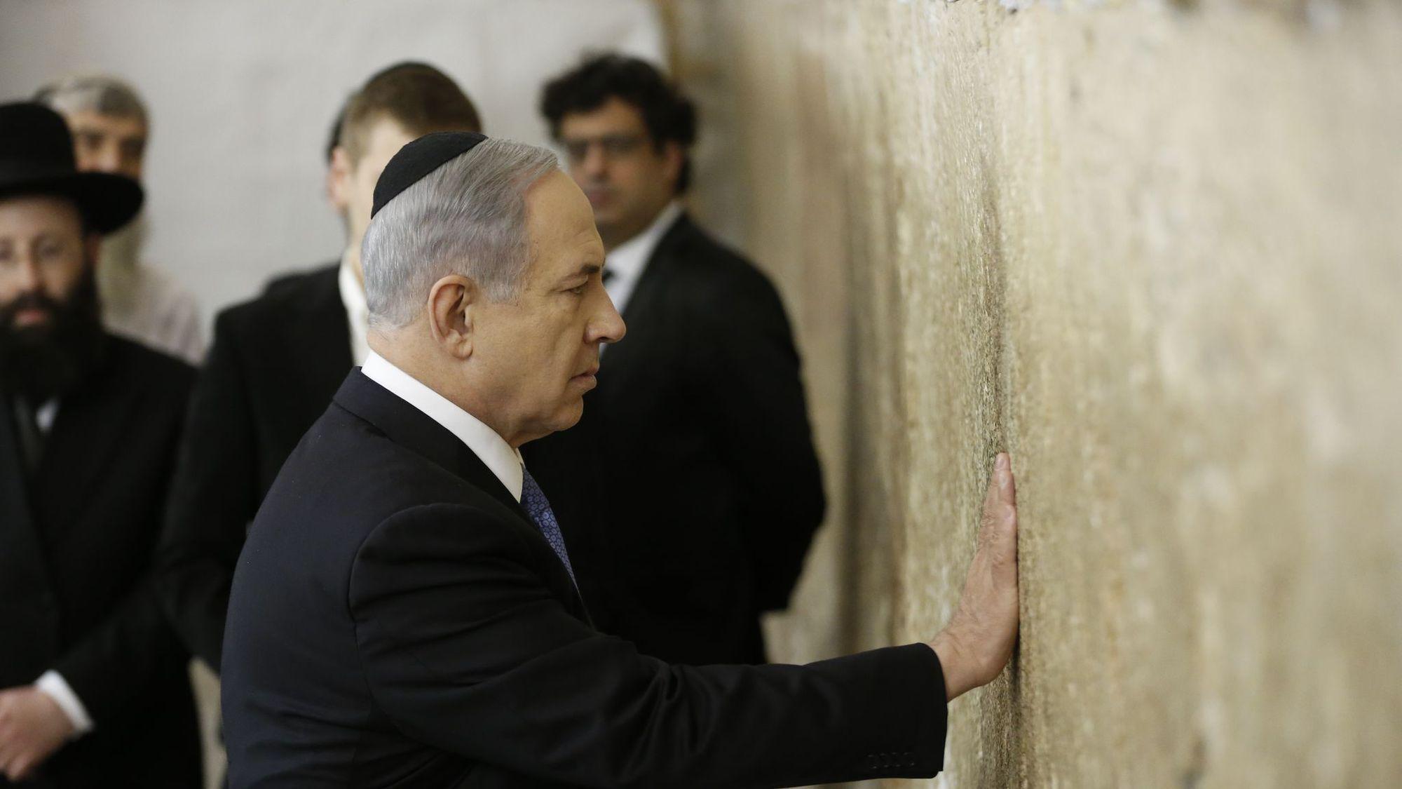 Netanyahu says Western Wall, Temple Mount will always be under Israeli control