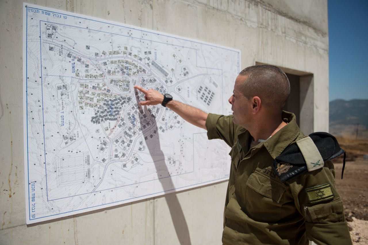 IDF building 'Lebanese village' in northern Israel for combat training