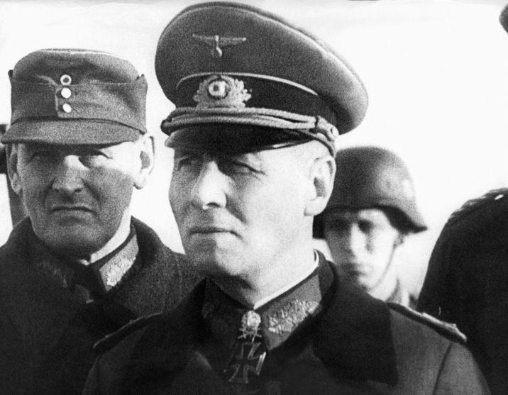 i24NEWS - Legacy of Nazi war general stirs debate among