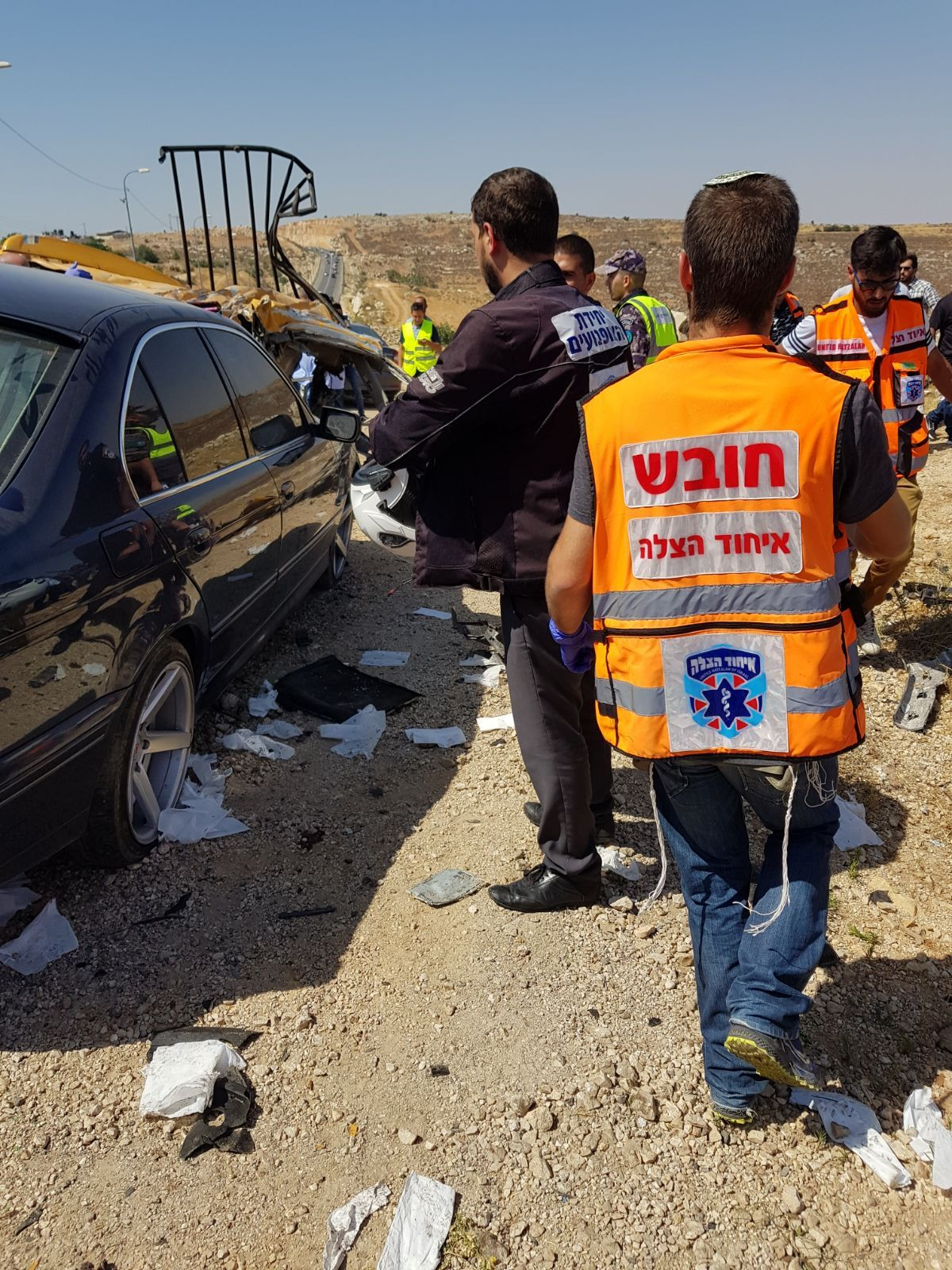 Six Palestinians killed in West Bank car crash