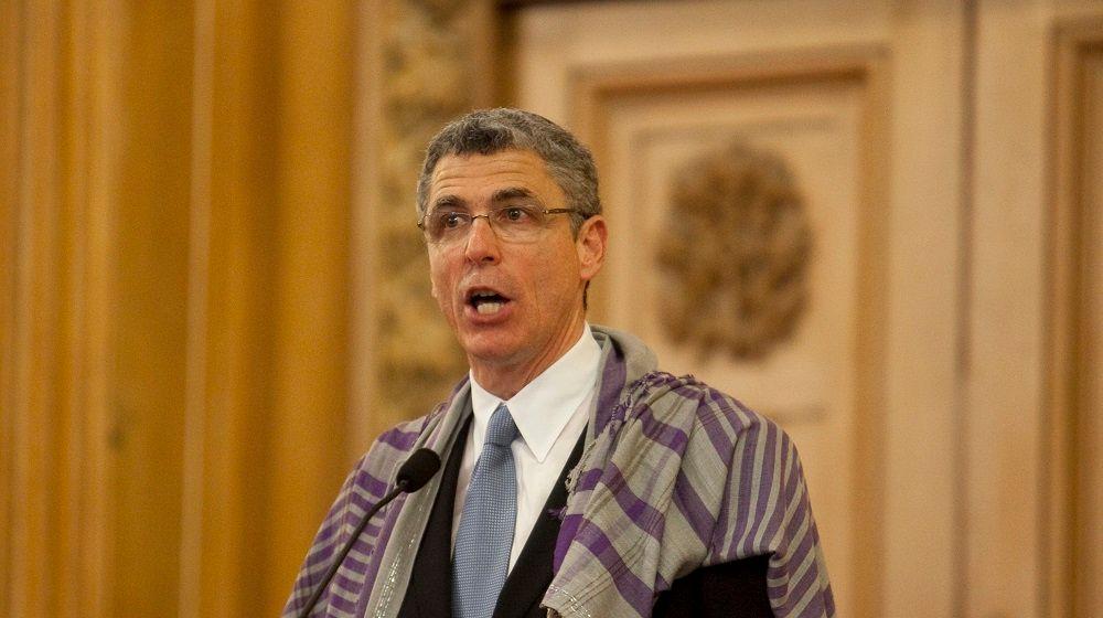 Rabbi Rick Jacobs President of The Union for Reform Judaism giving a sermon Courtesy URJ