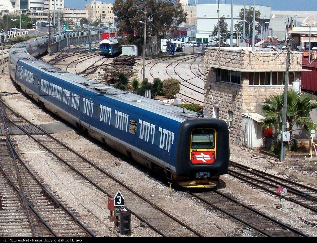train israélien