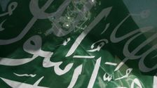 Drapeau du groupe islamiste Hamas