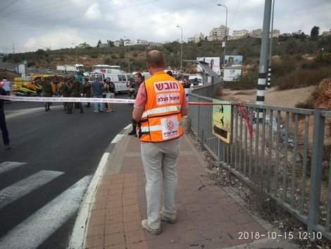 Palestinian shot dead after attempted stabbing attack in West Bank