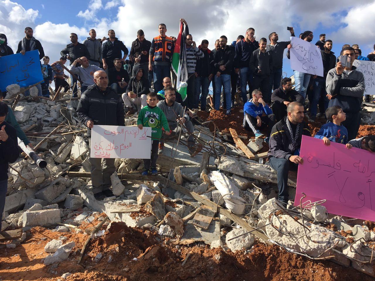 Israël: manifestation après la démolition de 11 maisons à Qalansawe