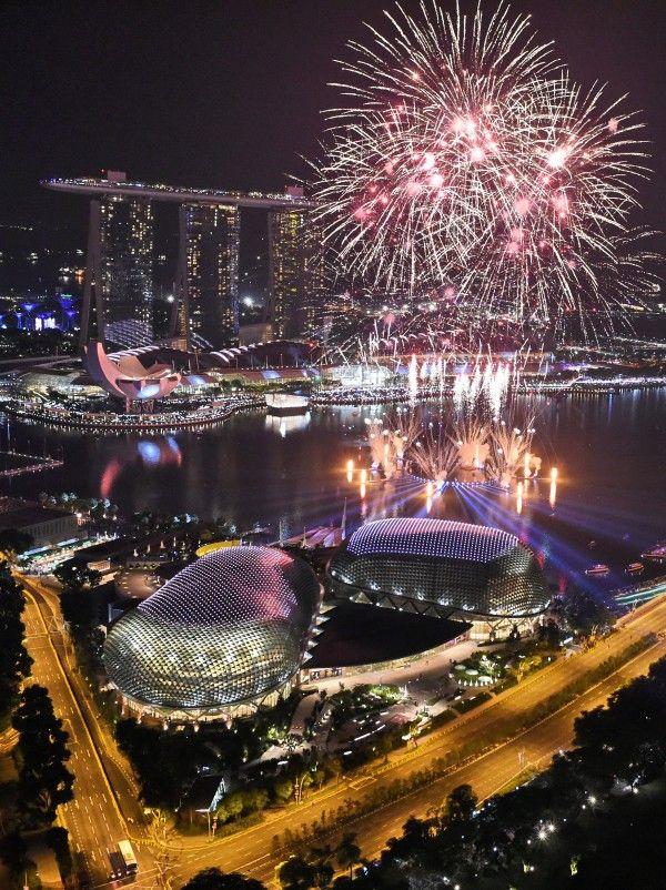 Nouvel an 2017 à Singapour