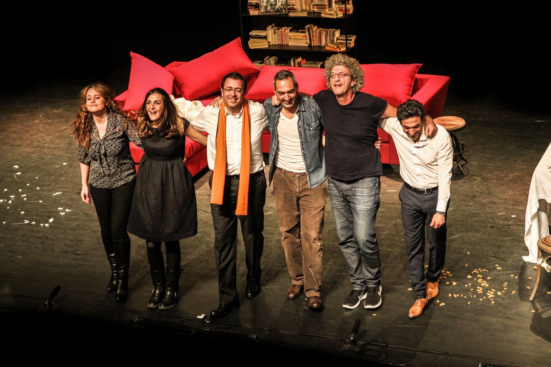 Théâtre: Le Prénom, rare coproduction franco-israélienne à l'affiche à Tel Aviv
