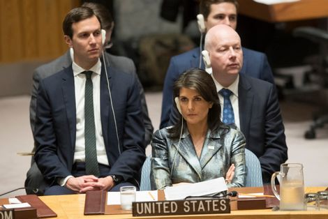 Mideast peace proposal nearly ready, says US envoy to UN