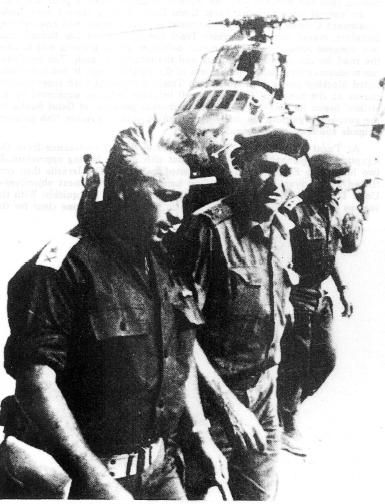 General Ariel Sharon, at the Battle of Abu-Ageila