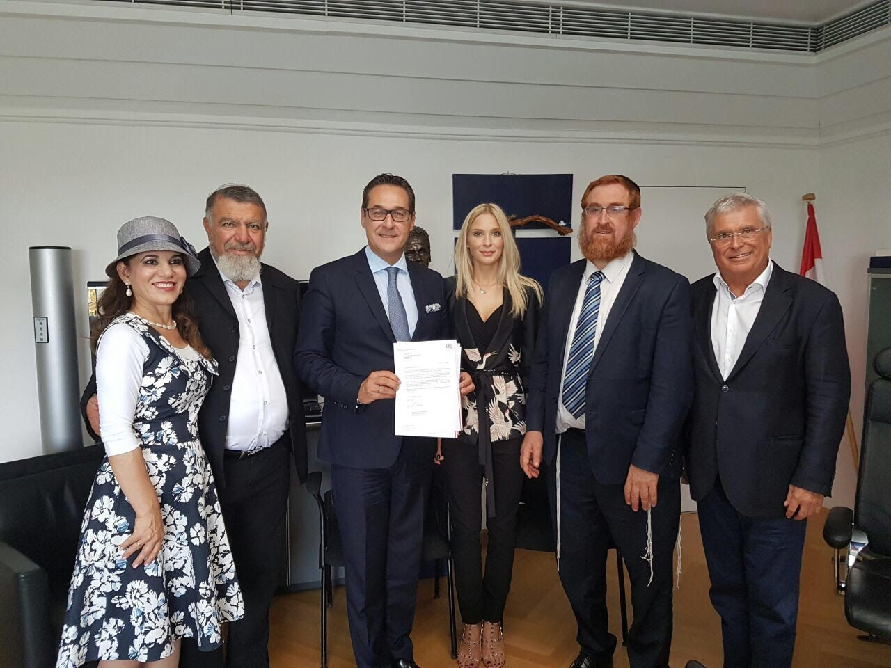 Austria's far-right Freedom Party commits to moving embassy to Jerusalem