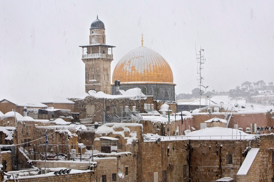 Jerusalem braces for rare snowfall as major winter storm bears down on Israel